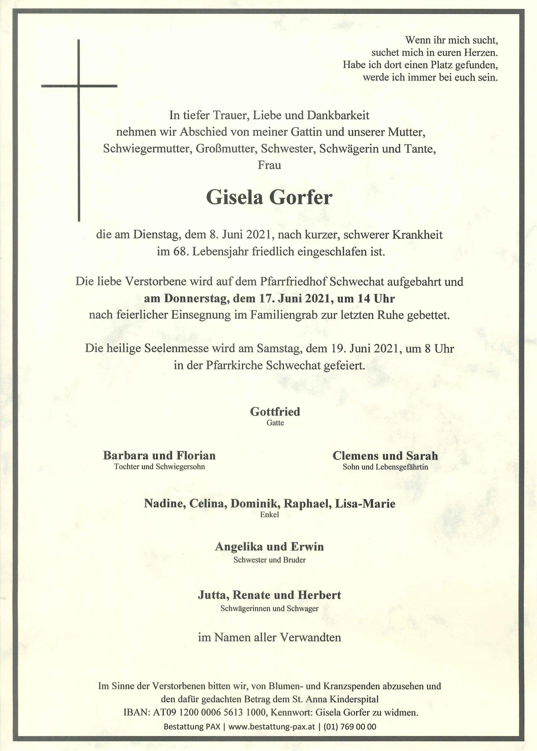 Gisela Gorfer
