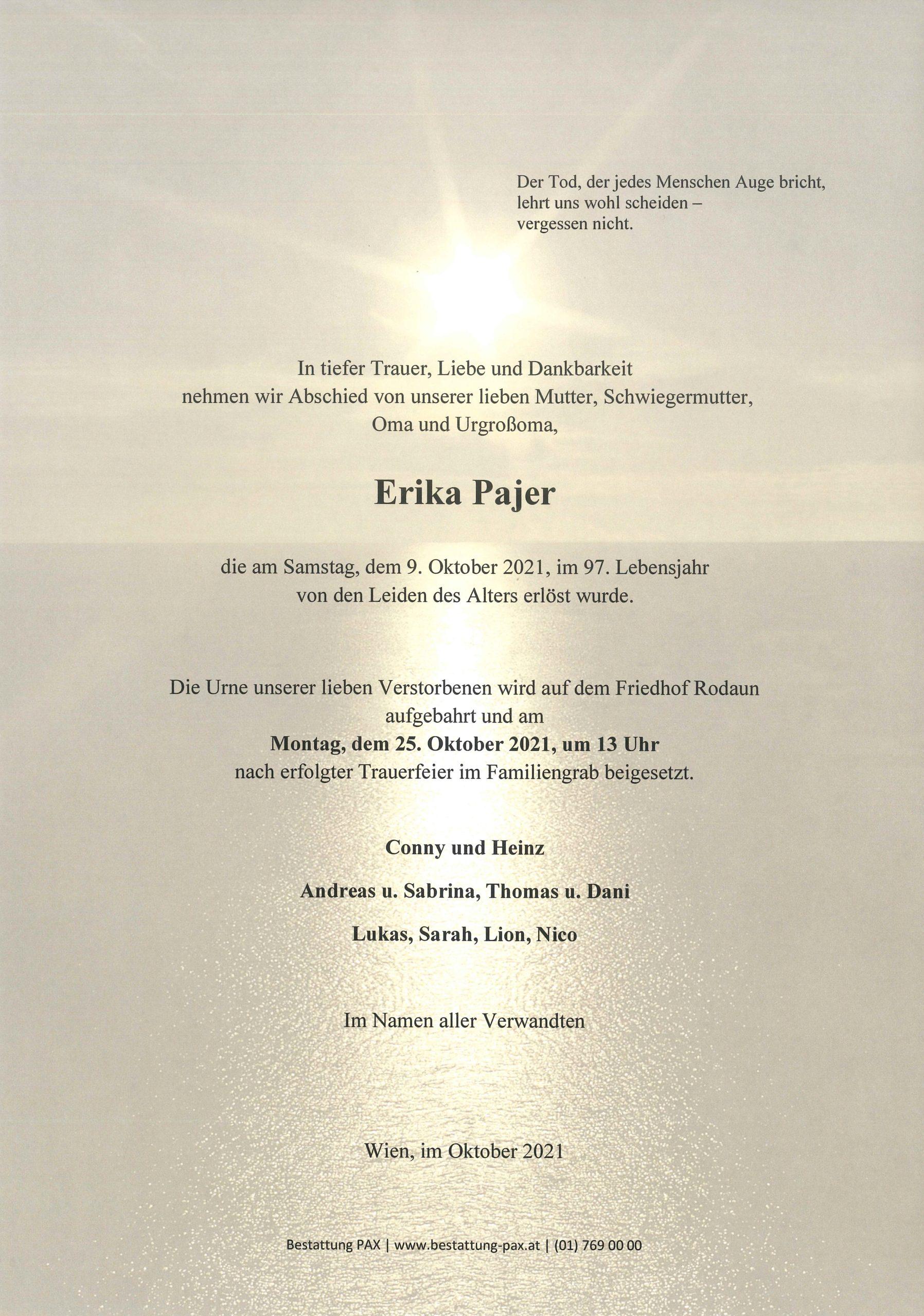 Erika Pajer